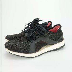 Adidas Pure Boost X Black Athletic Running Shoes